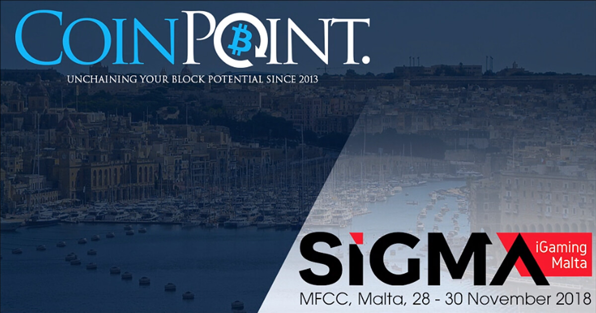 Monty Munford writer for Forbes and The Economist for CoinPoint Group INC at SiGMA